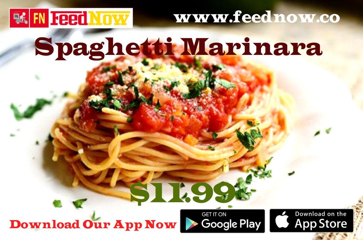 Delve into the intriguing flavor of spaghettimarinara