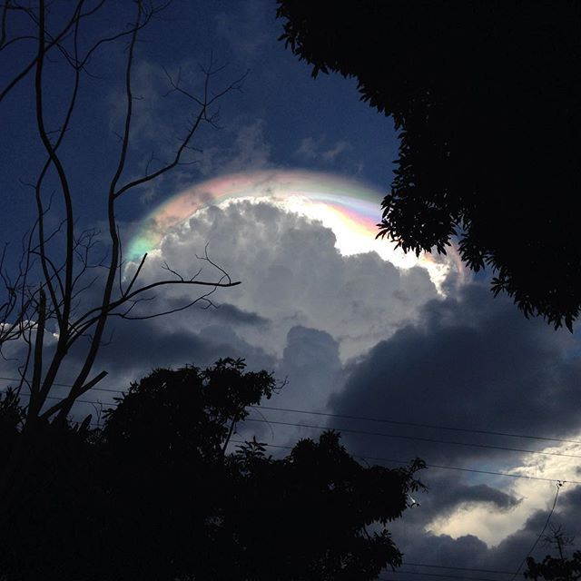 Cloud Iridescence