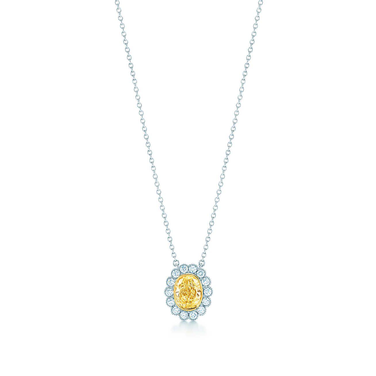 Tiffany enchantoval yellow diamond pendant diamond pendant tiffany enchantoval yellow diamond pendant aloadofball Gallery