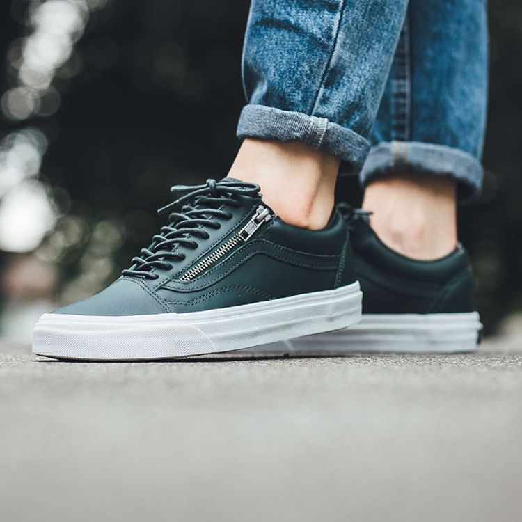 vans old skool green gables