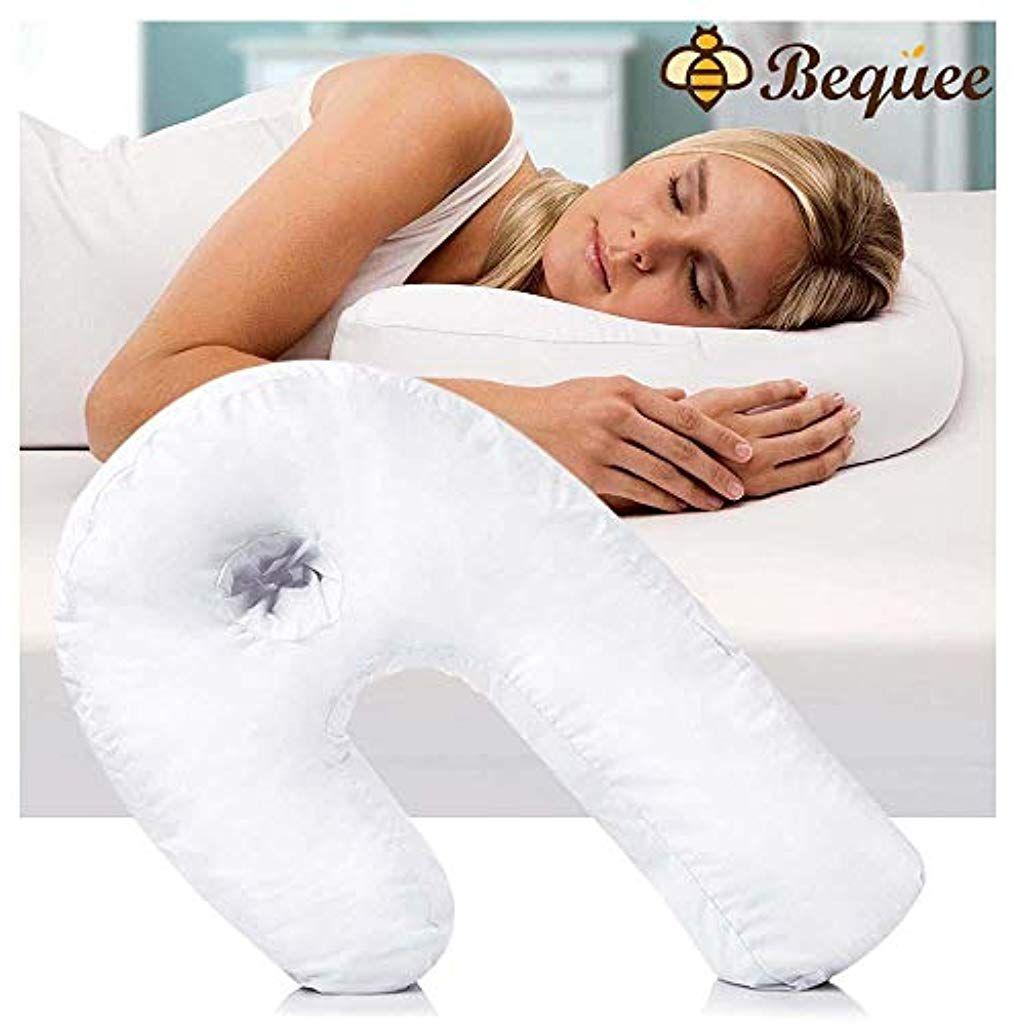 Bequee Side Sleeper U Form Kopfstutze Seitenschlaferkissen