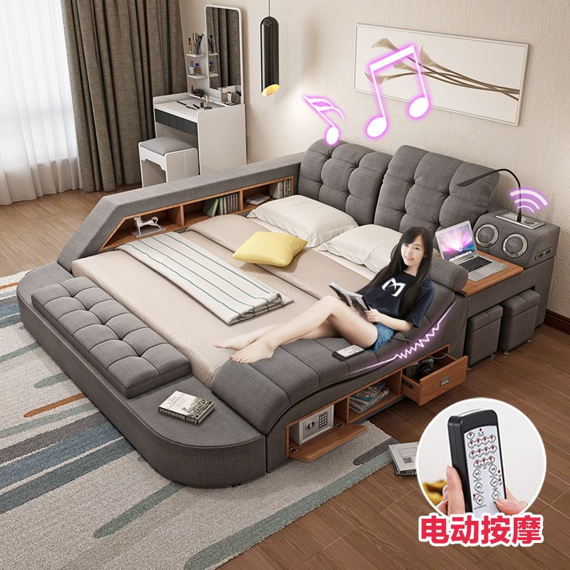 Massage Tatami Cloth Bed Fabric Bed Master Bedroom 1 8 M Double