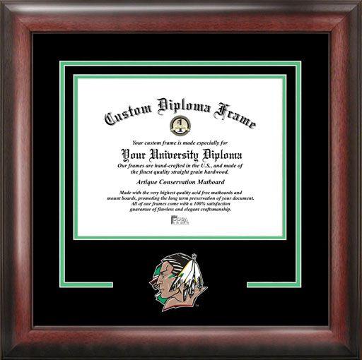 University of North Dakota Diploma Frame - College Mascot - Spirit ...