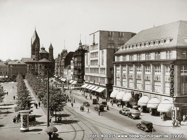 Das Kaufhaus Cords Und Der Moderne Neubau Von Wmf In Den 30er Jahren Koln Deutschland Bilder Neubau