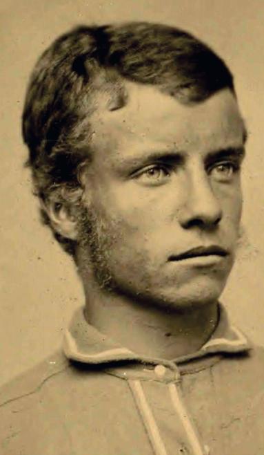 Teddy circa 1875.  VOTE ROOSEVELT.