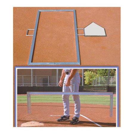Ssg Bsn Folding Baseball Batters Box Template 3 X 7 Ft Walmart Com Baseball Batter Box Template Little League