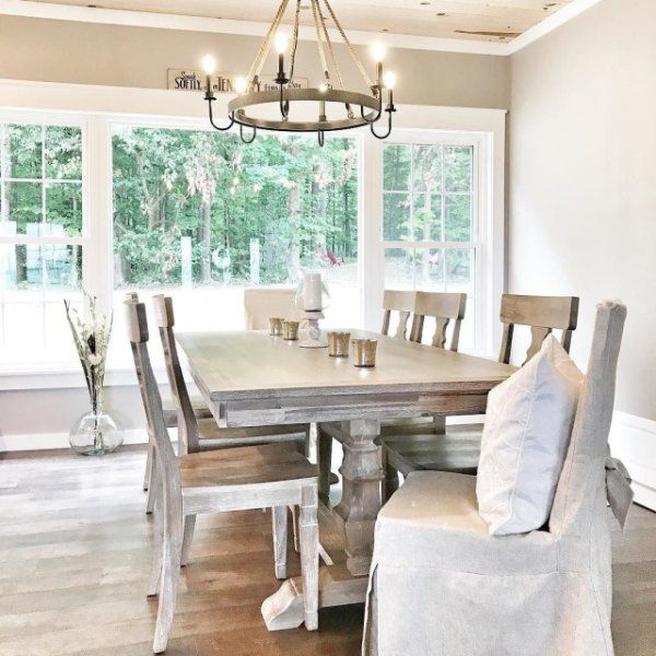 Bradding Shadow Gray 84 Quot Dining Table T H E F A R M In