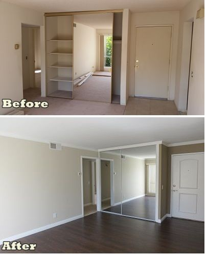 Low Cost Solutions To Enhance The Look Of Your Home Updated Baseboards Crown Molding Laminate Floors Ez Door Frames On Flat Doors And Paint