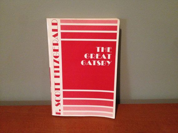 F. Scott Fitzgerald The Great Gatsby by TurnAroundRecords on Etsy, $8.00