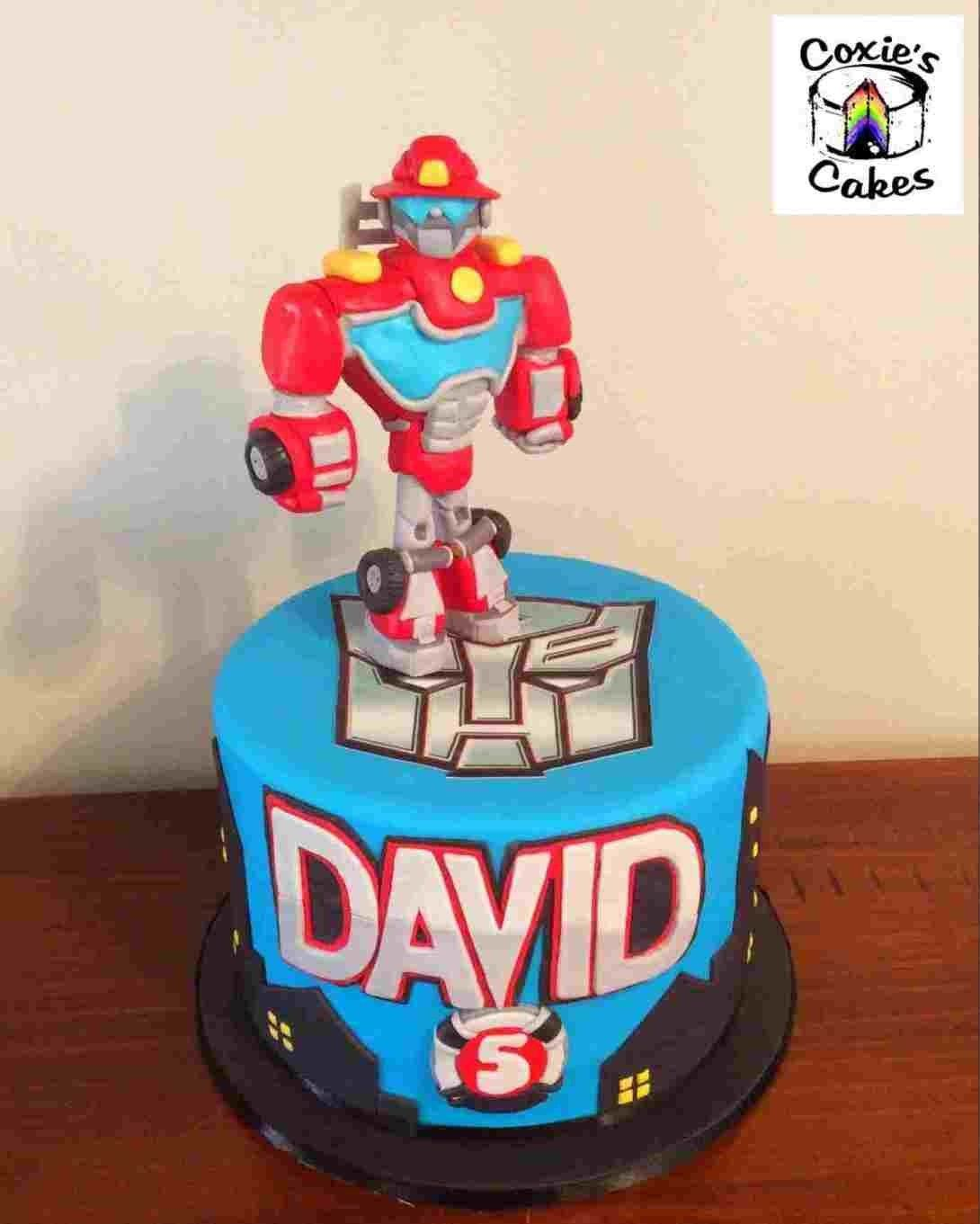 Awesome 30 Great Photo Of Rescue Bots Birthday Cake With Images Funny Birthday Cards Online Alyptdamsfinfo