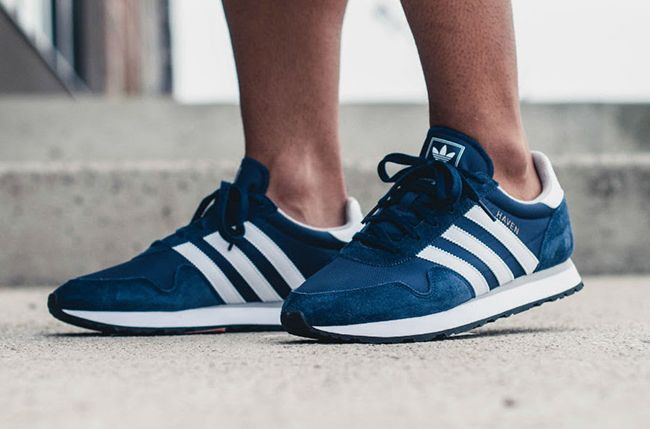 3dcaed693a2 Adidas Trainers Men s Haven Collegiate Navy White - Landau Store ...