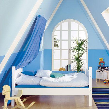 16 praktische Wohnideen für Ihre Dachschräge Dachschräge - wandgestaltung dachschrge