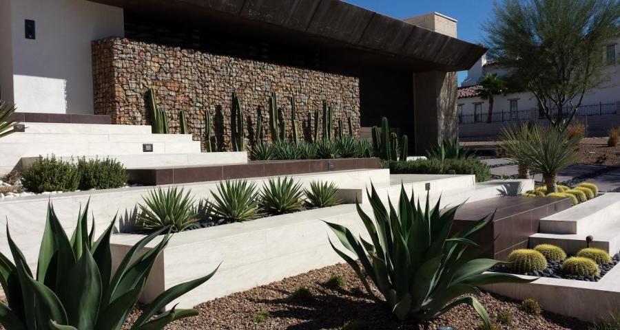Image Result For Modern Desert Front Yard Modern Landscaping