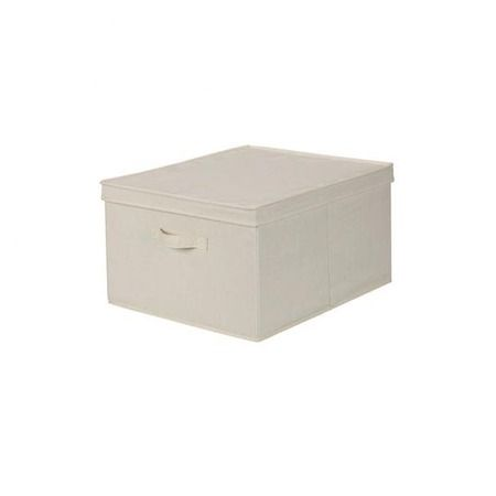 Since I currently don't use a traditional desk with drawers, I bought 2 of these to house all my stuff. From Joss & Main!