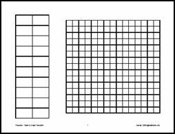 Table And Graph Paper All In One Template Great For