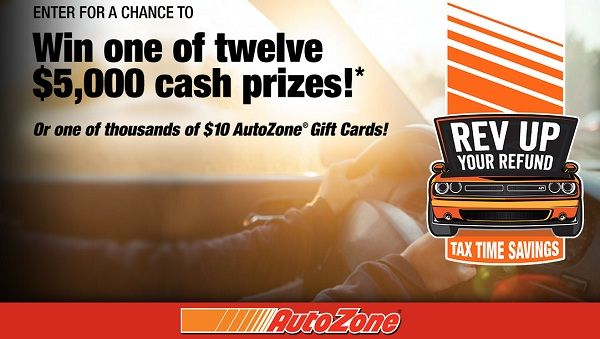 Autozone free gas for a year sweepstakes