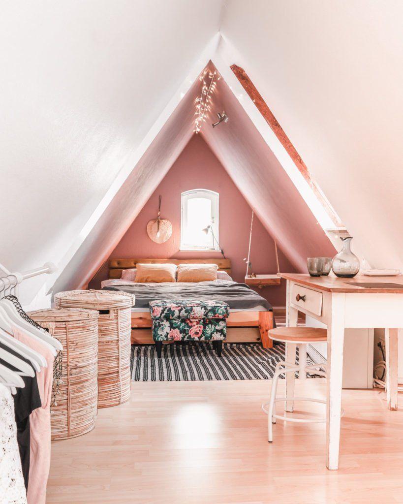 Individuelle Möbel Für Die Dachschräge Diy Buy Dachzimmer Einrichten Dachschräge Einrichten Wohnung