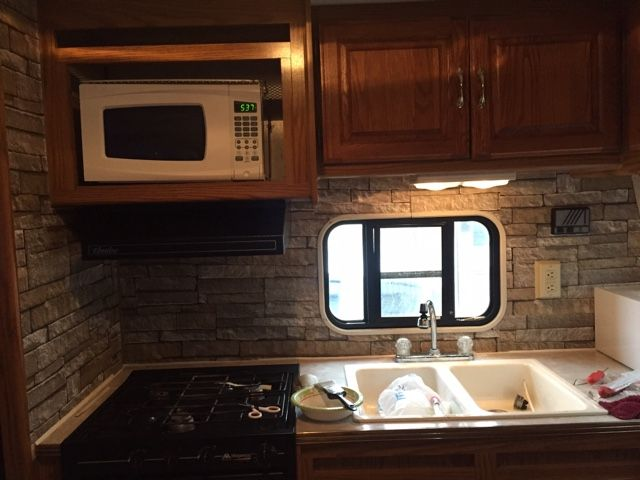 Fifth Wheel Remodel Rv Makeover