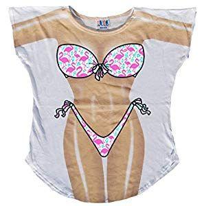 646627f540282 L.A. Imprints Miss America Bikini Body Cover-Up T-Shirt  6