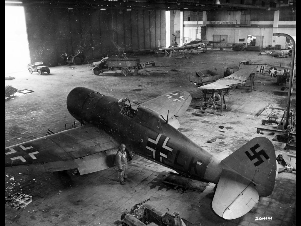 In this hangar is another world. You will be shocked