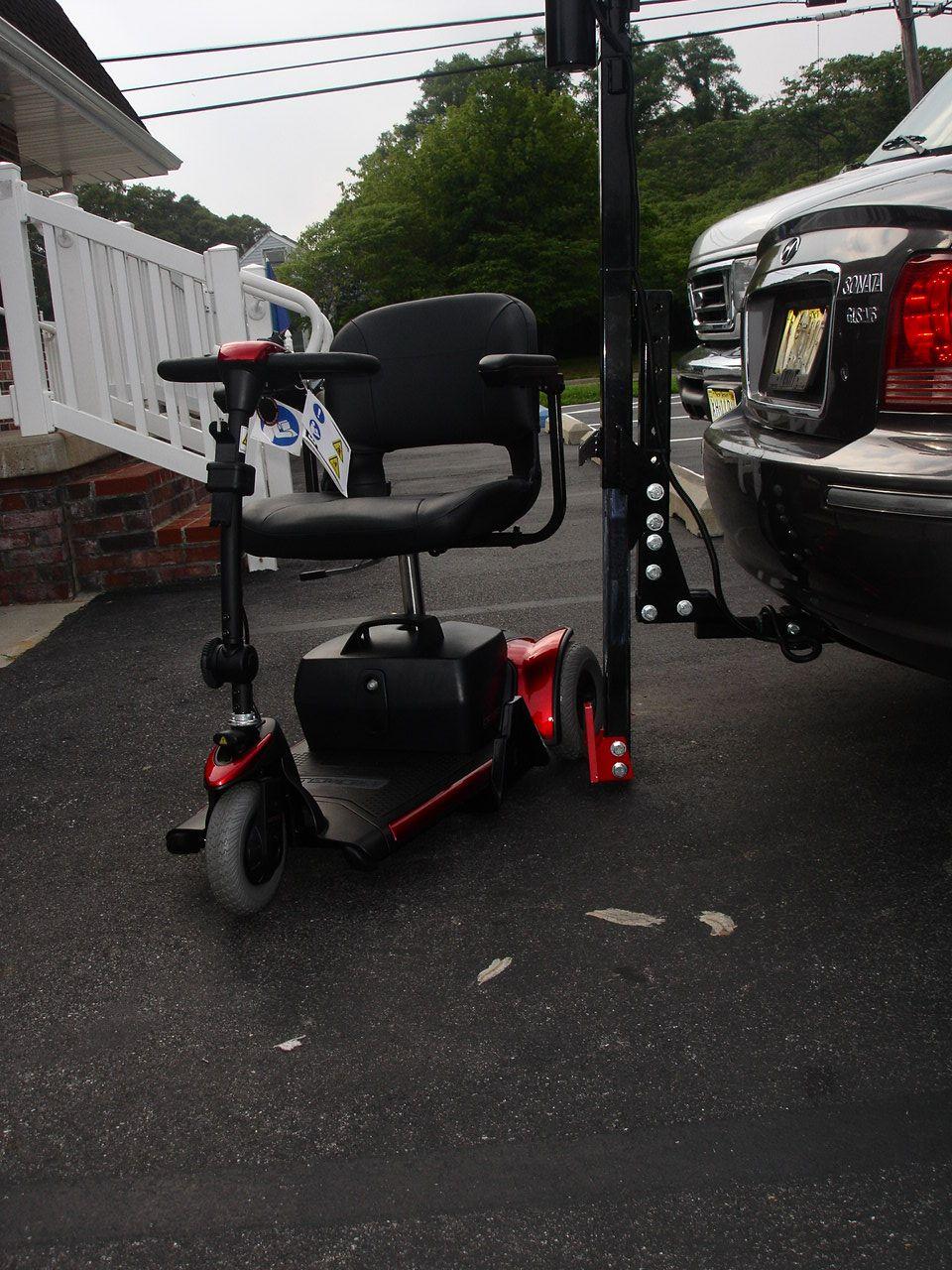 Exterior car lift scooter custom