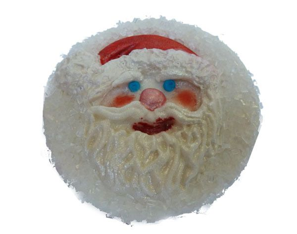 Kerstman cupcake (Karen Davies)