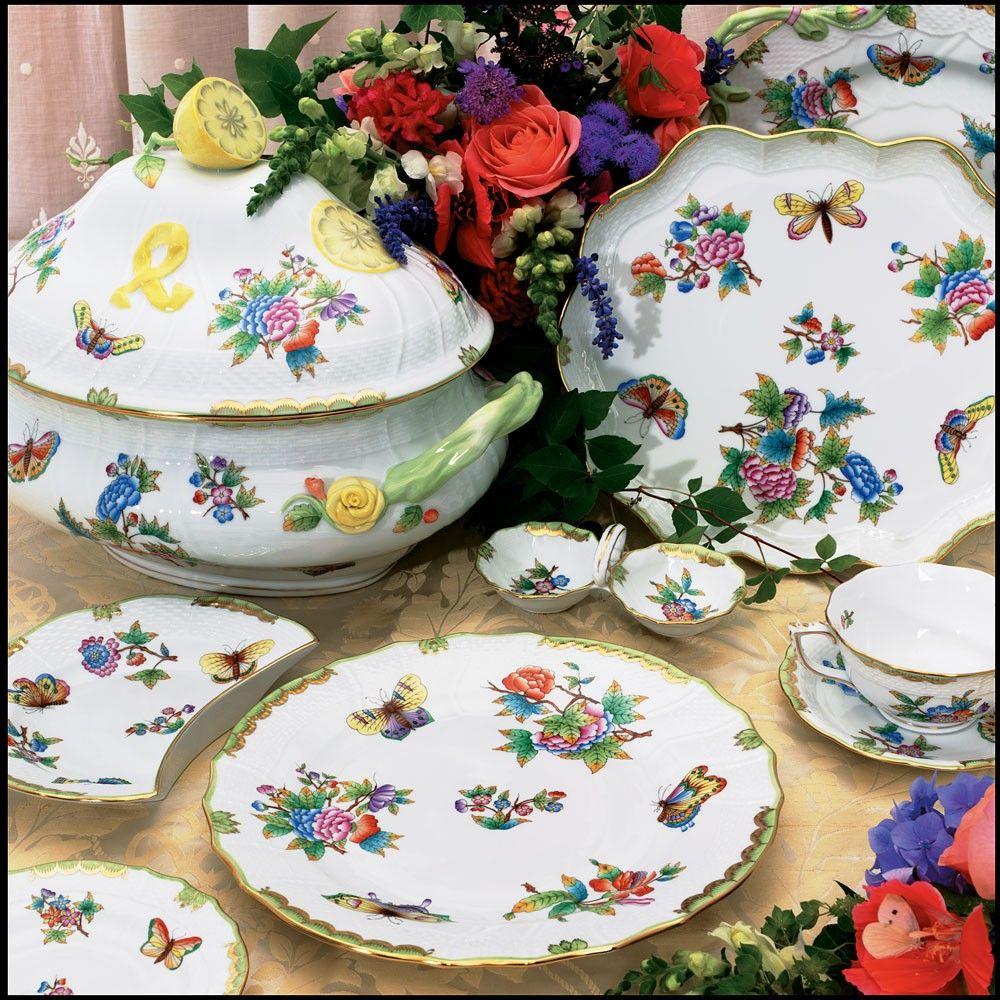Heren Queen Victoria Herend China Herend Fine China Dinnerware