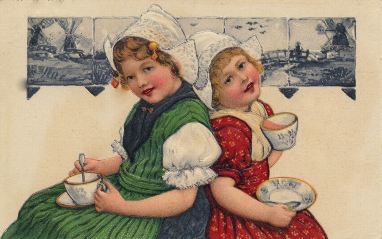 другого открытка ссср молодожены пьют чай часа