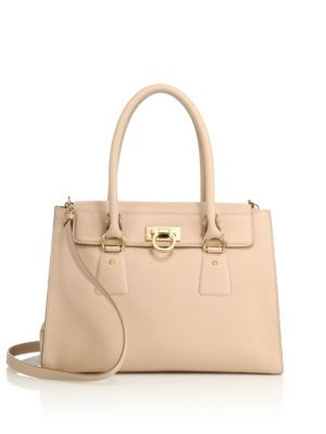 aab75242bfba Salvatore Ferragamo - Lotty Small Leather Satchel