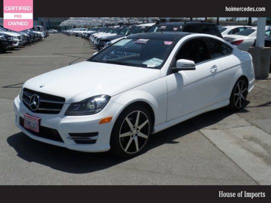 Coupe, 2015 Mercedes Benz C 250 Coupe With 2 Door In Buena Park, CA (90621)