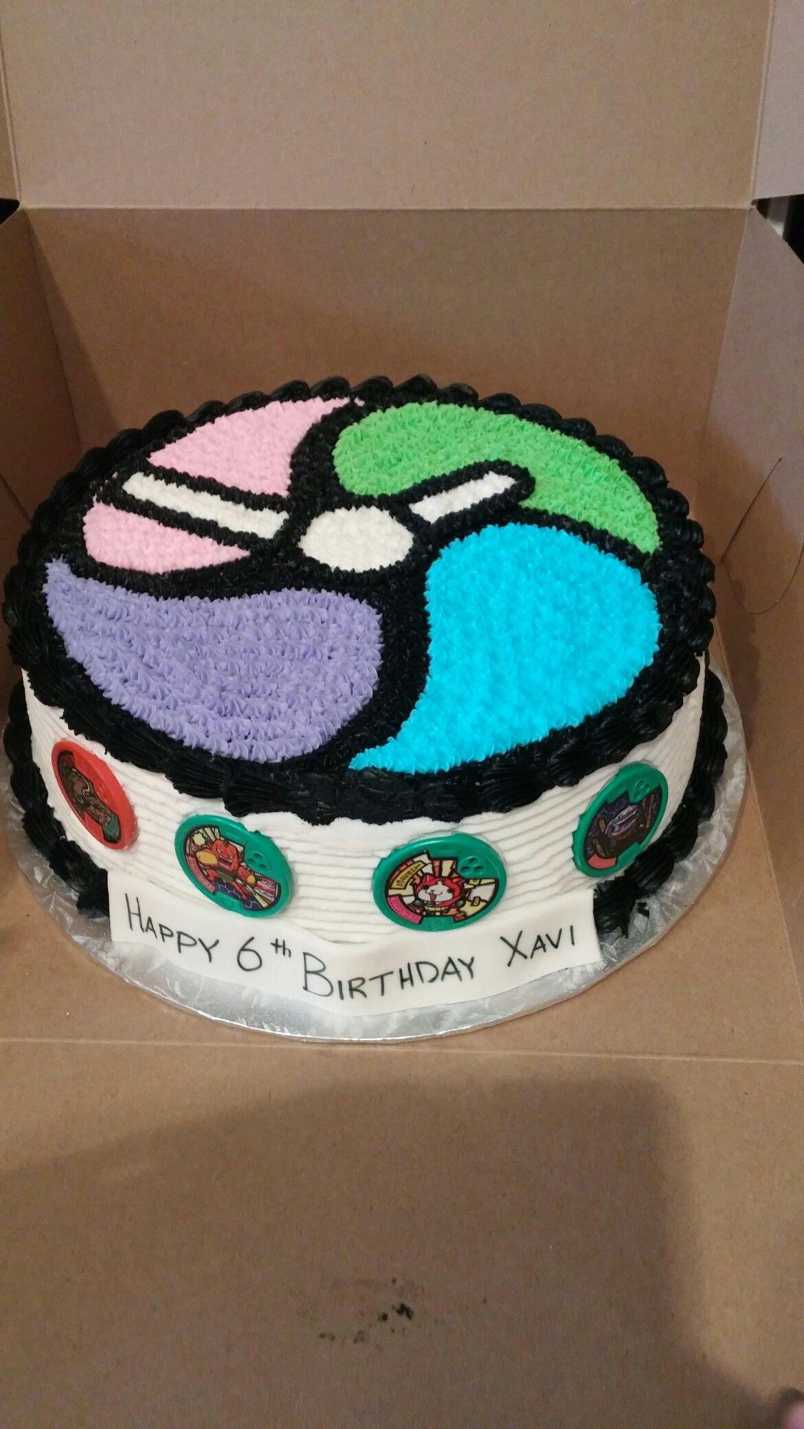 Yokai Watch cake | Classroom Activities | Pinterest | Cumple ...
