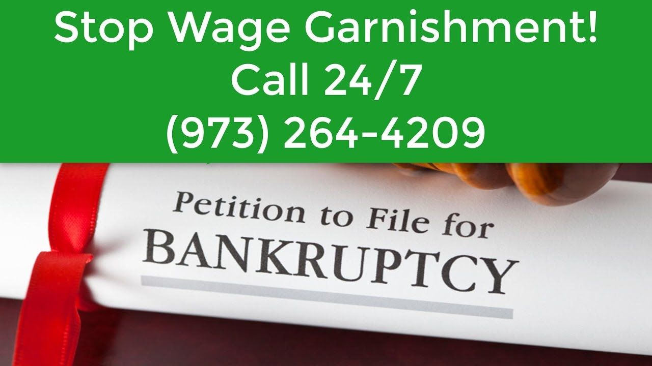 Can filing bankruptcy stop wage garnishment newark973264