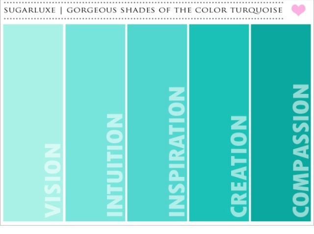 Teal And Copper Are An Unusual But Absolutely Gorgeous Color Combination When