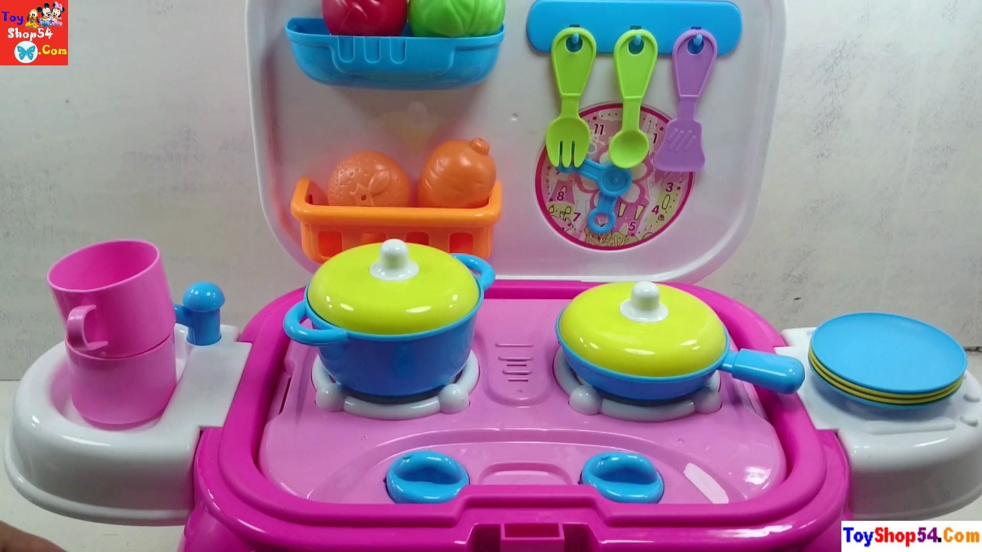 Toys for kids kitchen set  Đồ chơi nhà bếp nấu ăn cho bé Toys kitchen Cooking for the baby