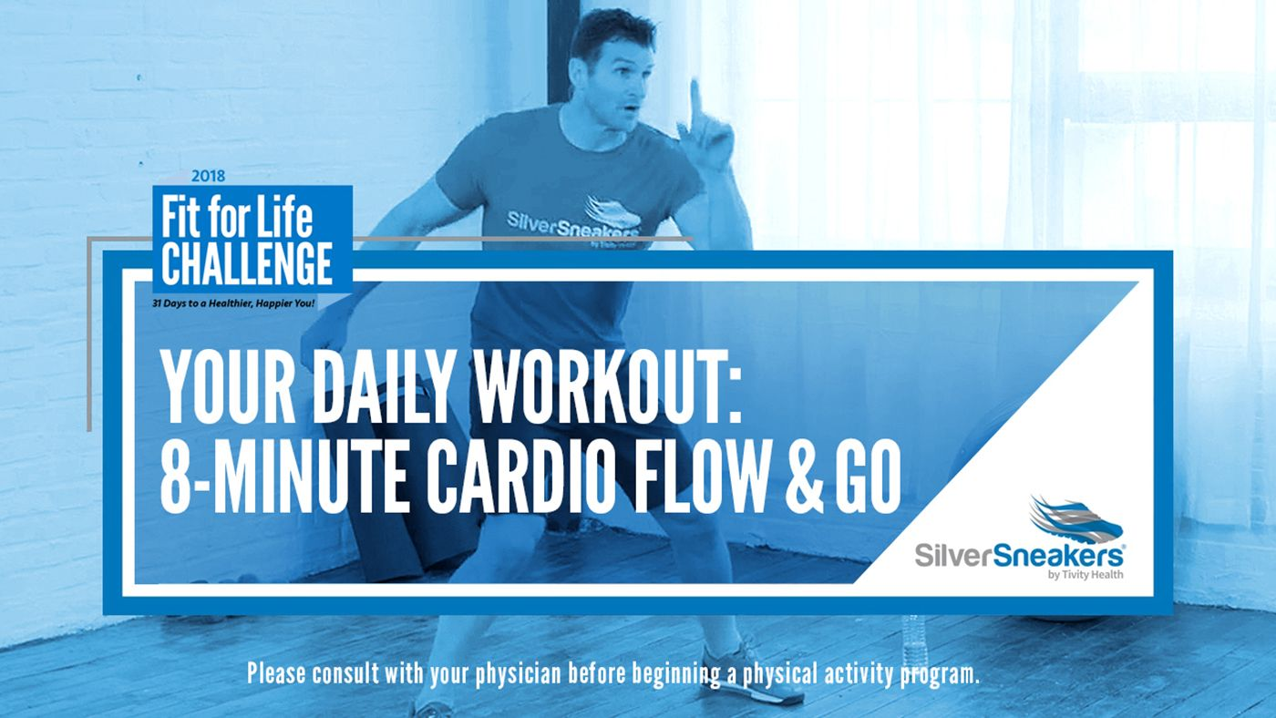 In This Silversneakers Fit For Life Challenge Video Fitness