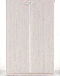 Completed Product Made in Japan Bookcase Bookcase with Door (Width 75 Height 114) White …