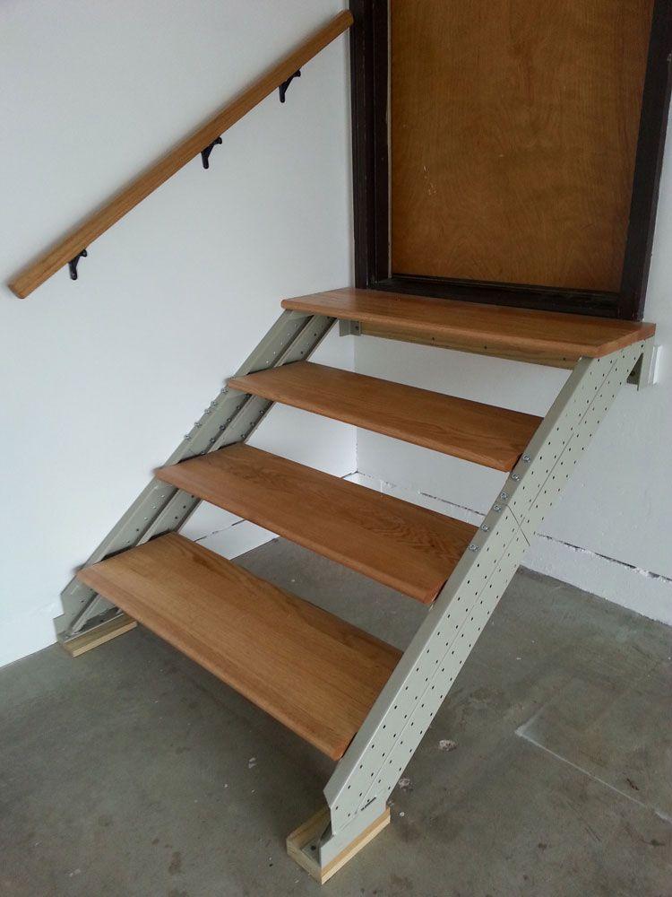 stair kits for basement attic deck loft storage and more rh pinterest com