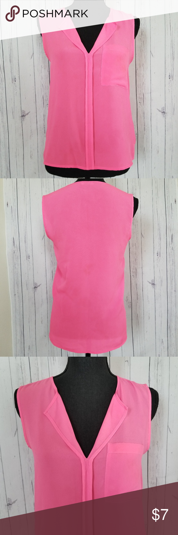 Pink dress emoji   HuM US PINK Chiffon Fabric Blouse  My Posh Closet  Pinterest