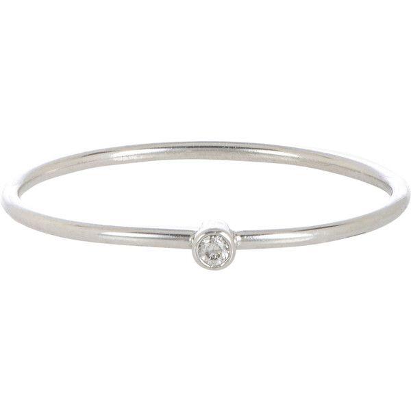 Jennifer Meyer Womens Diamond Thin Ring i9Mvat