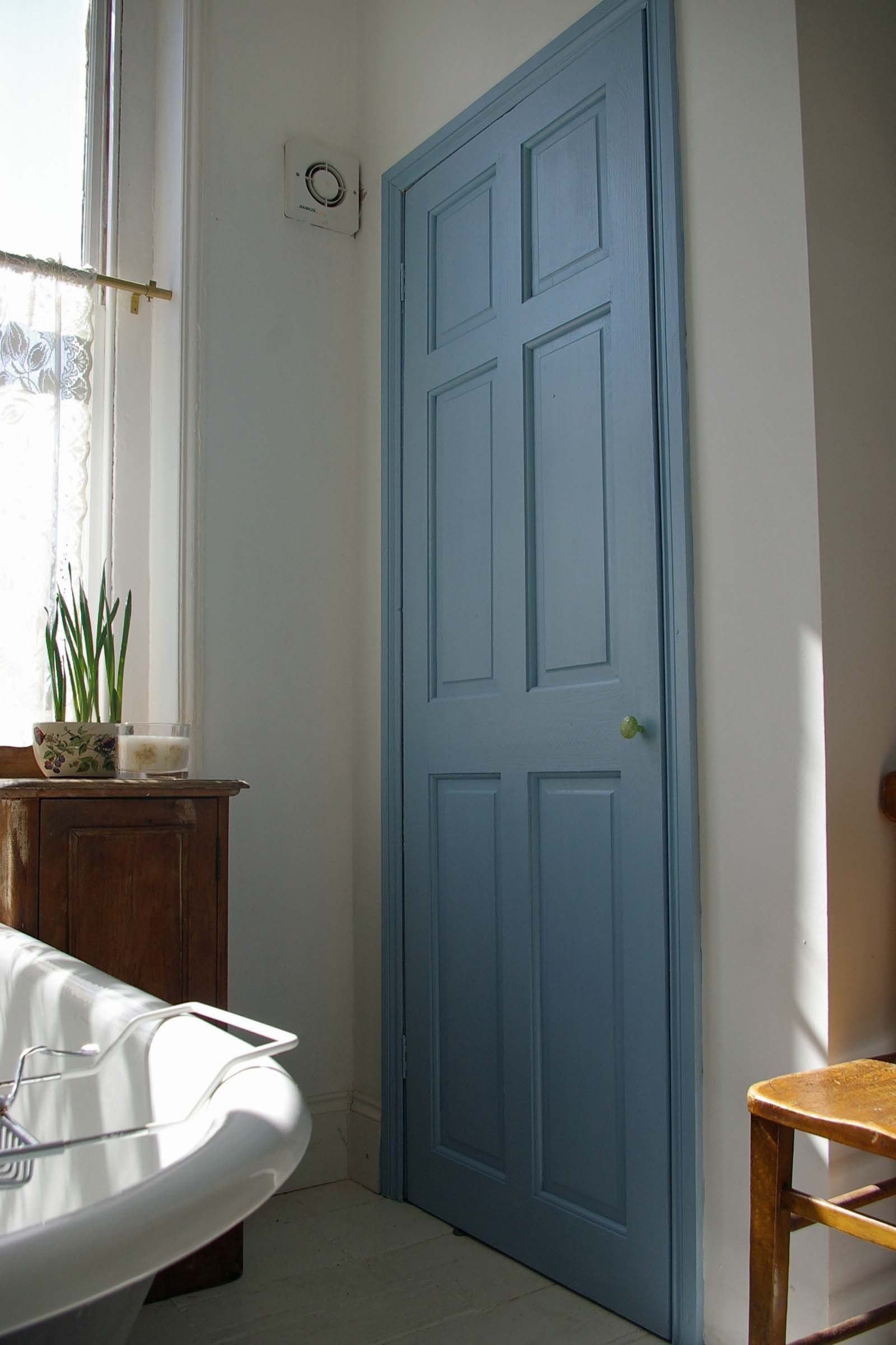 Ie closet doors and sometimes on an exterior door in conjunction with - Farrow Ball Lulworth Blue Door Great Idea To Add Some Colour By Painting Internal Doors Or Wardrobe Doors
