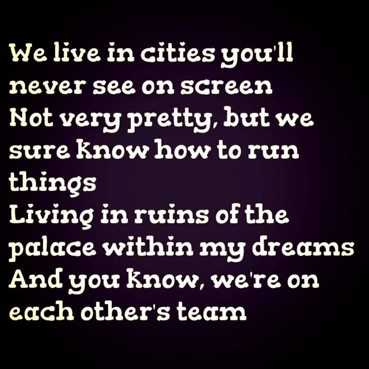 Lorde Team #lyrics #music #song #words #quote #musical ...