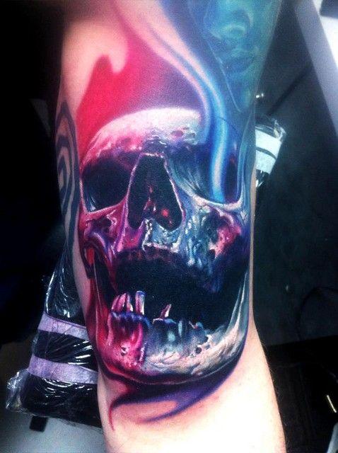 Photo of Colorful Skull Tattoos  1456.jpg