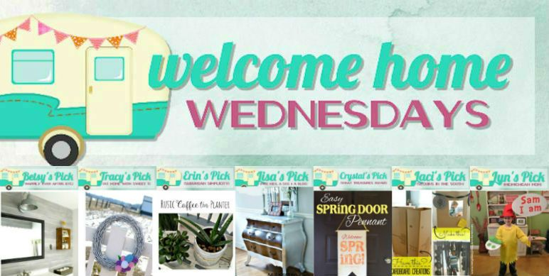 Welcome to Welcome Home Wednesdays number 28! That's only two away from week 30! Score! Let's get started! Each week our little party gets even bigger