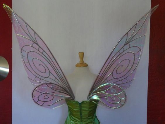 Tinkerbell Wings Tutorial Google Search Tinkerbell Wings Fairy Wings Tinkerbell Fairies