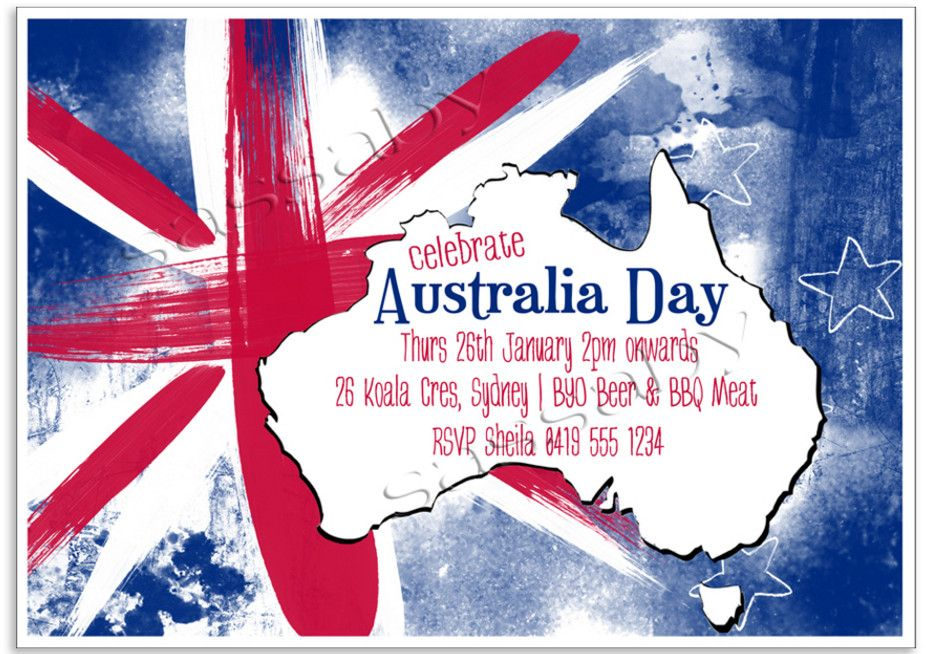 australian themed party invitations | Farewell presents | Pinterest ...