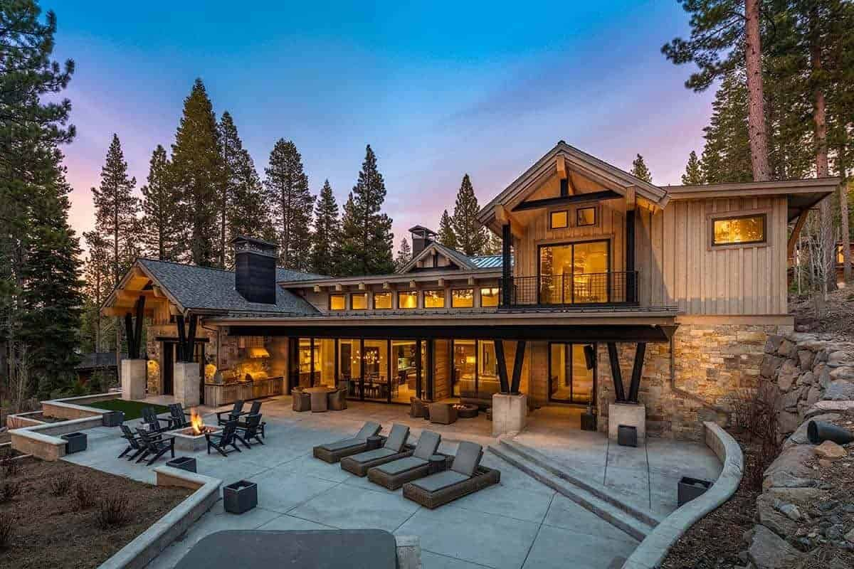 Tour this chic and stylish mountain home in historic Truckee, California