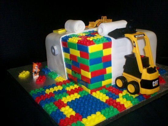 Lego Birthday Cake Ideas