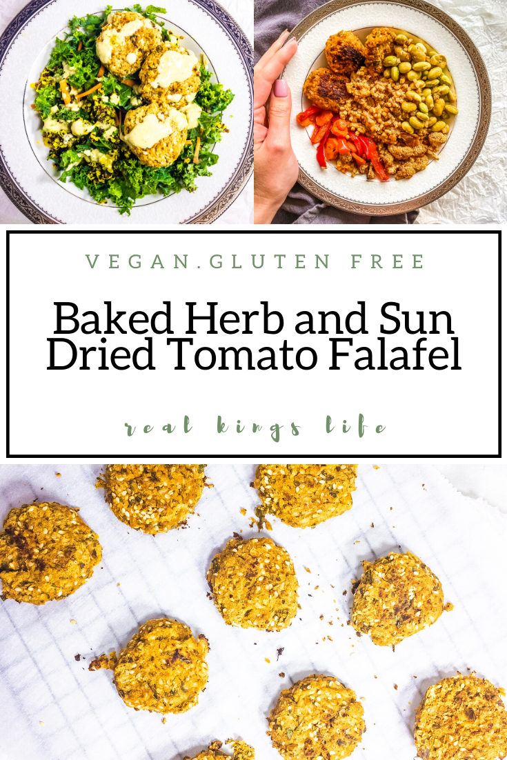 Baked Herb and Sun Dried Tomato Falafel Recipe Sun
