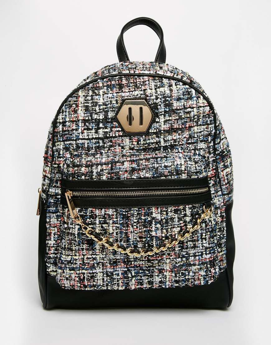 32ca5d5e9e ALDO+Boucle+Backpack+with+Front+Pocket+and+Adjustable+Straps ...
