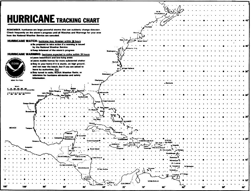 picture relating to Printable Hurricane Tracking Map called Blank Hurricane Monitoring Chart Hurricanes, Typhoons